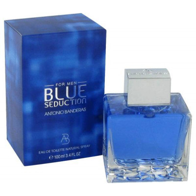 Antonio Banderas Blue Seduction (EDT, 100ml, мужская)
