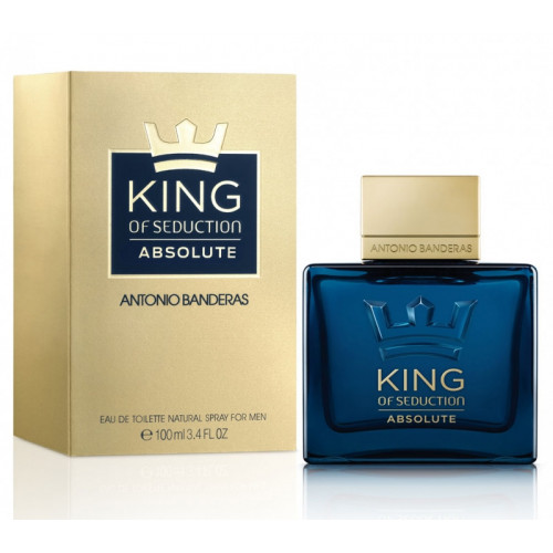 Antonio Banderas King Of Seduction Absolute (EDT, 100ml, мужская)