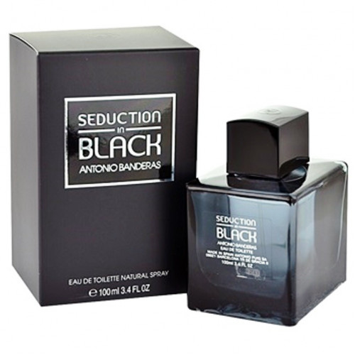 Antonio Banderas Seduction In Black (EDT, 100ml, мужская)