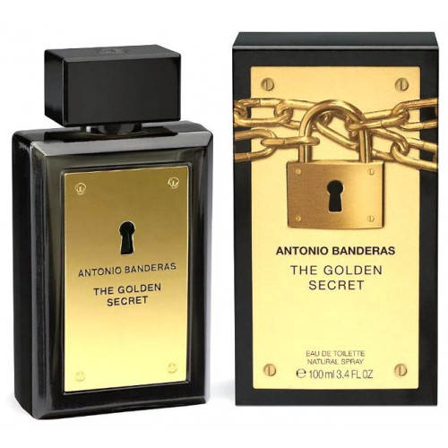 Antonio Banderas The Golden Secret (EDT, 100ml, мужская)