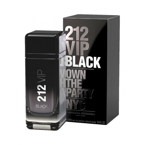 Carolina Herrera 212 VIP Black (EDP, 100ml, мужская)..
