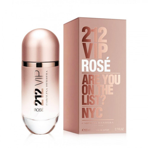 Carolina Herrera 212 Vip Rose (EDP, 80ml, женская)..