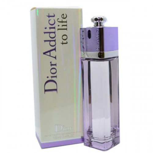 Christian Dior Addict To Life (EDT, 100ml, женская)