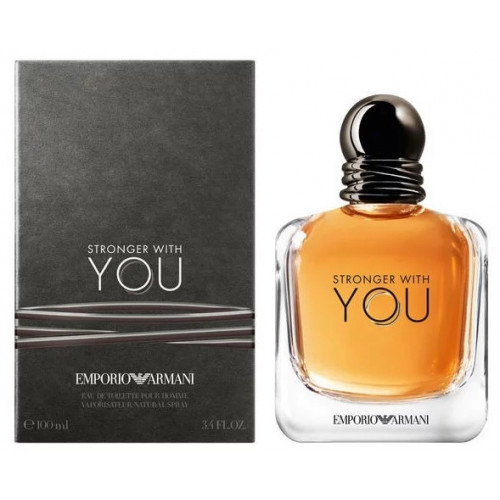 Emporio Armani Stronger With You (EDT, 100ml, мужская)