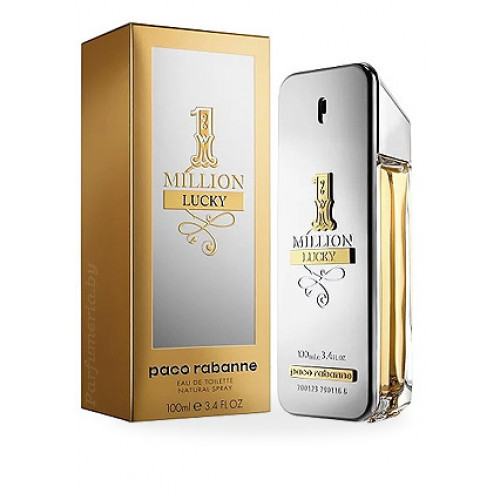 Paco Rabanne 1 Million Lucky (EDT, 100ml, мужская)