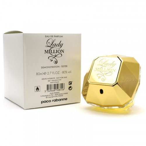 Тестер Paco Rabanne Lady Million (EDP, 80ml, женская)