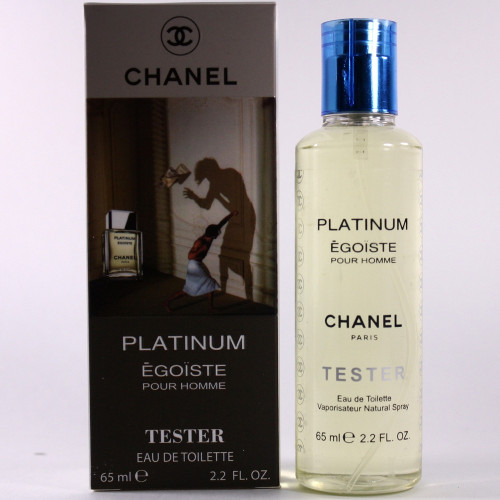 Тестер Chanel Platinum Egoiste (EDP, 65ml, мужская)