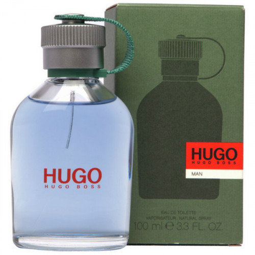 Hugo Boss Hugo Man (зеленый, EDT, 100ml, мужской)..