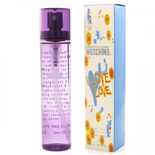Moschino Cheap And Chic I Love Love (EDT, 80ml, женские)