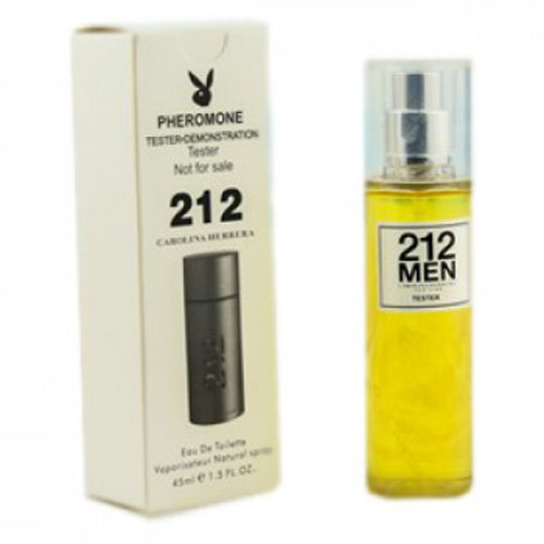 Тестер Carollina Herrera 212 Men (EDT, 45ml, мужской)