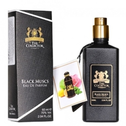 Alexandre J. Black Musc (EDP, 60ml, унисекс)