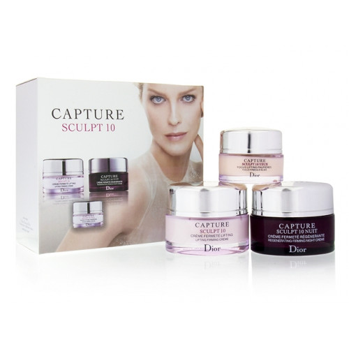 Набор кремов для лица Dior Capture Sculpt 10 (50г, 50г, 15мл)